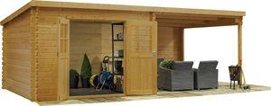 jardindeco - abri de jardin en bois vendée - Cobertizo De Jardín
