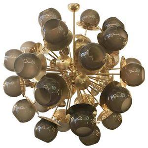 ALAN MIZRAHI LIGHTING - ka1786 lampadina sputnik - Suspensión Múltiple