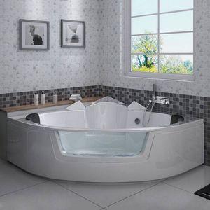 DISTRIBAIN - baignoire d'angle 1408290 - Bañera Angular