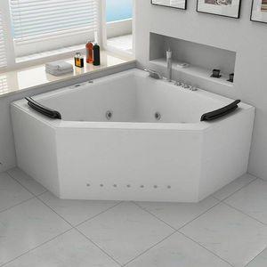 DISTRIBAIN - baignoire d'angle 1408320 - Bañera Angular