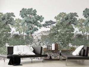 ISIDORE LEROY - forêt de bretagne grise - Papel Pintado Panorámico