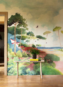 ISIDORE LEROY - forêt - Papel Pintado Panorámico