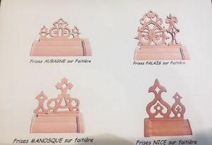 TERRES D'ALBINE - frise de toit - Friso
