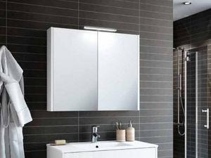 CasaLux Home Design - armoire schwan 600 24076 - Armario De Cuarto De Baño