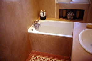 Atelier Olivier Billon - salle de bain tadelakt - Tadelakt