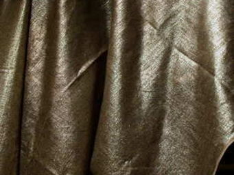 PIETRO SEMINELLI - lin metallise argent - Tela Para Tapicerías