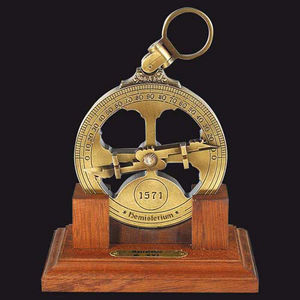 HEMISFERIUM - astrolabe nautique - Astrolabio