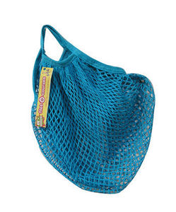 LA PLUME DE LOUISE - filet-ô-courses bleu - Bolsa De Redecilla Para La Compra