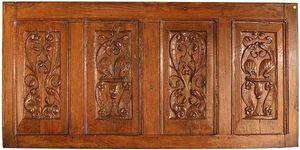 Antoine BOCCADOR - panneau de dressoir, chêne sculpté, xvie - Panel Decorativo