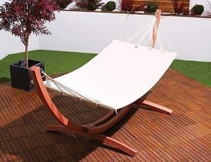 Abode Interiors - outdoor garden bow hammock - Hamaca De Varillas
