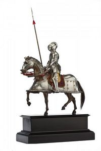 Peter Finer - a french model armour for man and horse in sixteen - Armadura