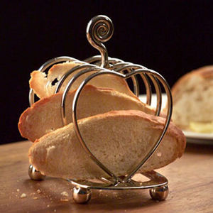 Culinary Concepts - heart toast rack - Portatostadas