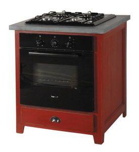 Mueble bajo para horno integrado