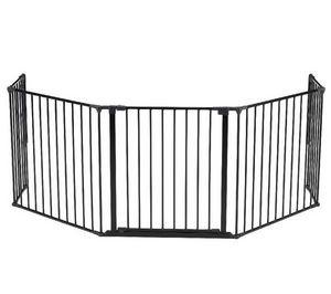BABYDAN - barrire de scurit modulable flex xl - noir - Barrera De Seguridad Para Niño