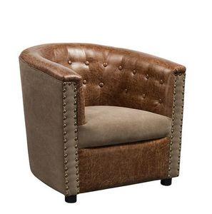 Mathi Design - fauteuil club boston - Sillón