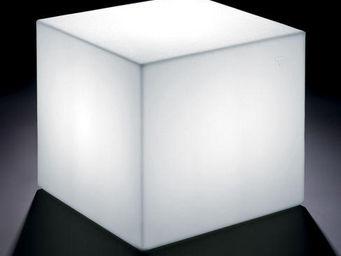 Lyxo by Veca - home fitting cubo outdoor - Mesa De Centro Luminosa