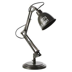 Maisons du monde - paterson army - Lámpara De Sobremesa