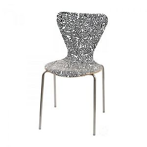 Mathi Design - chaise keith haring - Silla