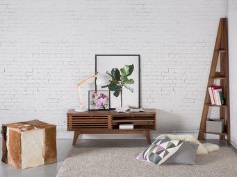 BELIANI - meuble tv - Mueble Tv Hi Fi