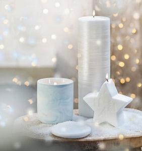 Bougies La Francaise - décorative - Velas De Navidad