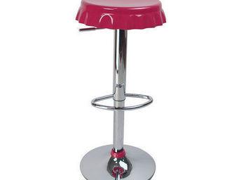 Miliboo - lot de 2 tabourets capsules rose - Taburete De Bar