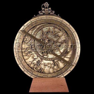 HEMISFERIUM - Astrolabio-HEMISFERIUM-Astrolabe Planisferique