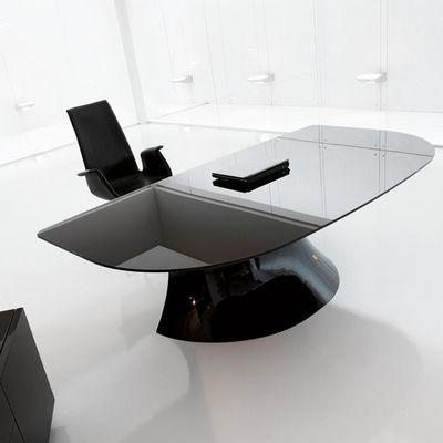 ITALY DREAM DESIGN - Escritorio de dirección-ITALY DREAM DESIGN-Ola-Black. Designer Mario Mazzer