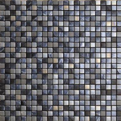 Vives Azulejos y Gres - Azulejos para pared-Vives Azulejos y Gres-Satinados Mosaico Tiépolo Plata 30x30cm