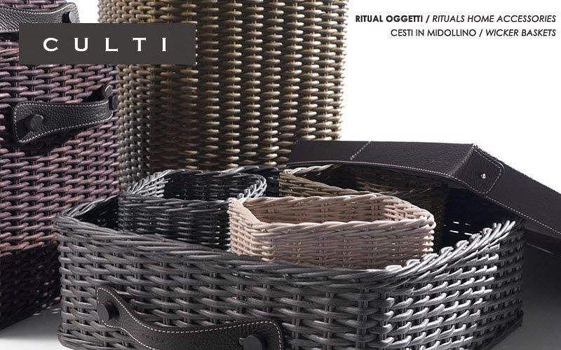 CULTI MILANO Cestino sistematutto Scatole e casse per armadio Dressing e Complementi Camera da letto | Design Contemporaneo