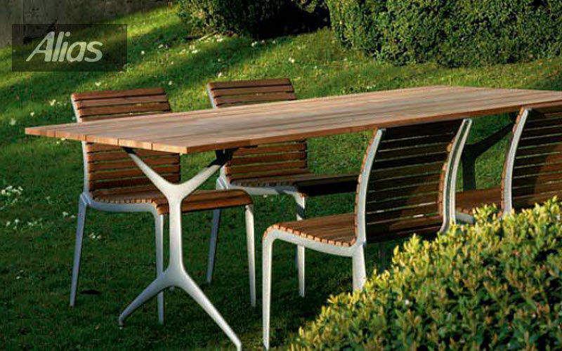 ALIAS Set tavolo e sedie da giardino Tavoli da giardino Giardino Arredo Giardino-Piscina | Design Contemporaneo