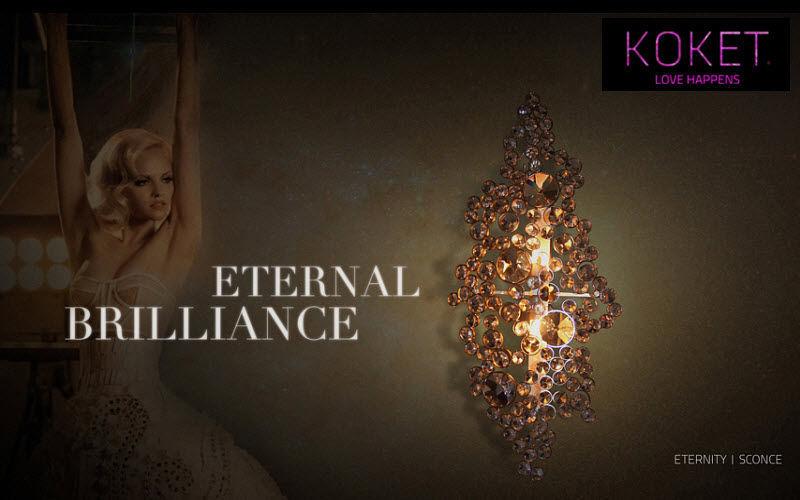 KOKET LOVE HAPPENS lampada da parete Applique per interni Illuminazione Interno  |