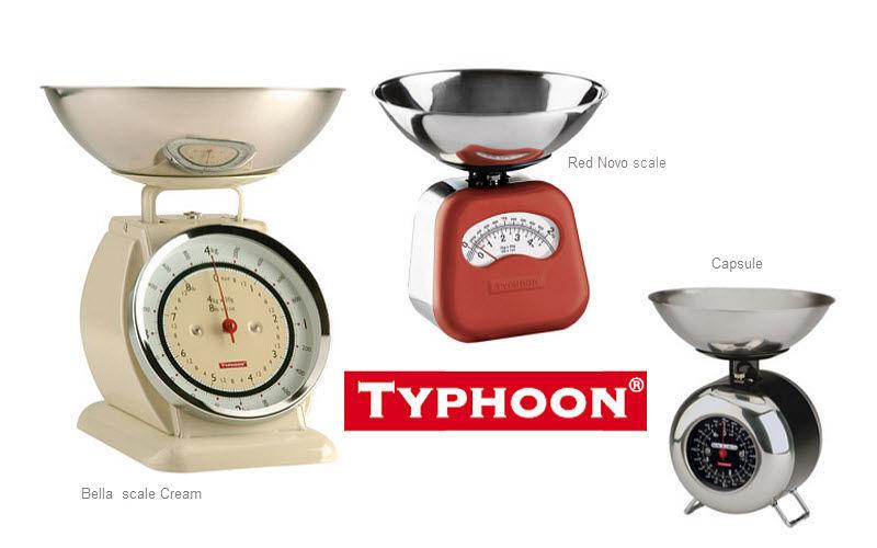 TYPHOON Bilancia da cucina meccanica Pesare Cucina Accessori  |