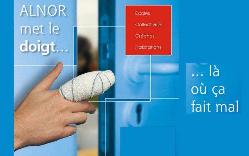Alnor Anti-sbattimento porta di sicurezza Accessori porte Porte e Finestre  |