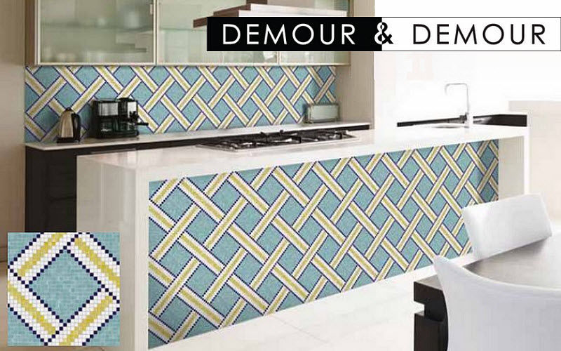 DEMOUR & DEMOUR Mosaïques Piastrella a mosaico Piastrelle da parete Pareti & Soffitti  |