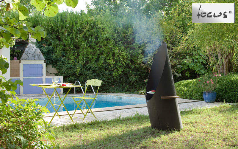 Focus Barbecue a carbone Barbecue Varie Giardino  |