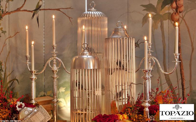 Topazio Portacandela Candele e candelabri Oggetti decorativi Salotto-Bar | Classico