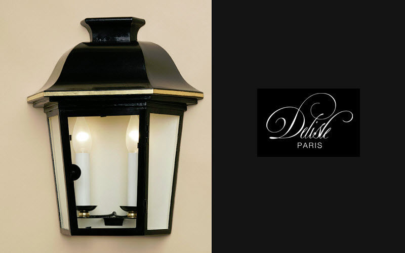 Lanterne Da Giardino A Muro : Mezza lanterna da parete applique per esterni decofinder