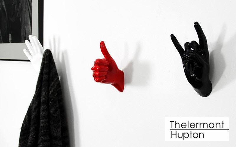 Thelermont Hupton Appendiabiti da parete Mobili e Accessori Ingresso Armadi, Cassettoni e Librerie  | Eclettico