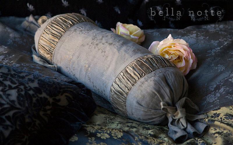Bella Notte® Linens Federa per cuscino cilindrico Cuscini Guanciali Federe Biancheria  |