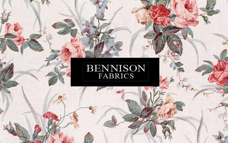 Bennison Fabrics Tessuto stampato Tessuti d'arredo Tessuti Tende Passamaneria  |