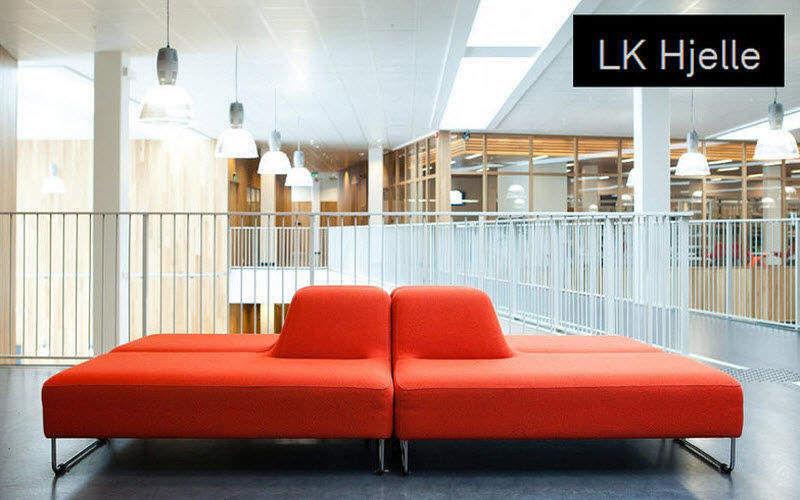LK Hjelle Sedia per sala d'attesa Sedie e poltrone per ufficio Ufficio  | Design