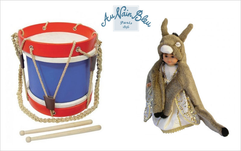Au Nain Bleu Tamburo bambino Strumenti musicali per bambini Giochi e Giocattoli   