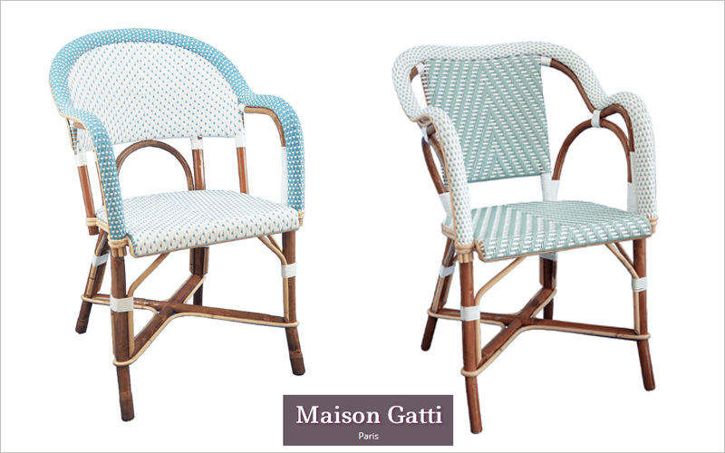 Maison Gatti Poltrona da terrazzo Poltrone per esterni Giardino Arredo  |