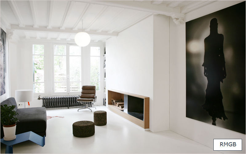 RMGB Progetto architettonico per interni Progetti architettonici per interni Case indipendenti Salotto-Bar | Design Contemporaneo