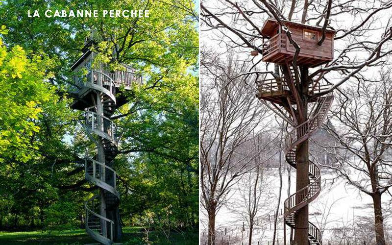 La Cabane Perchee Casa sull'albero Tettoie e rimesse Giardino Tettoie Cancelli...  |