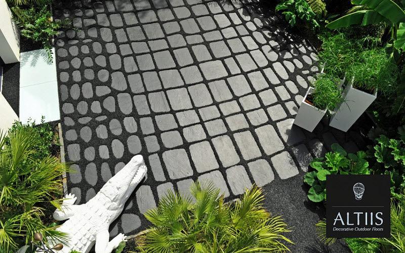 ALTIIS Lastra per pavimentazione esterna Pavimenti per esterni Pavimenti  |