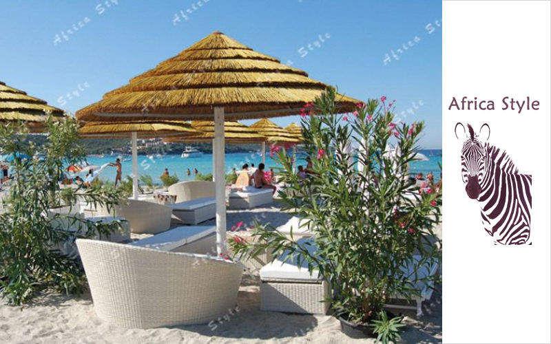 Africa Style Gazebo con tetto in paglia Tettoie e rimesse Giardino Tettoie Cancelli...  |