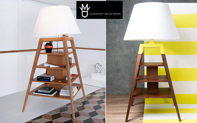 LA MANUFACTURE DU DESIGN Lampada-mobile Lampade da terra Illuminazione Interno  |