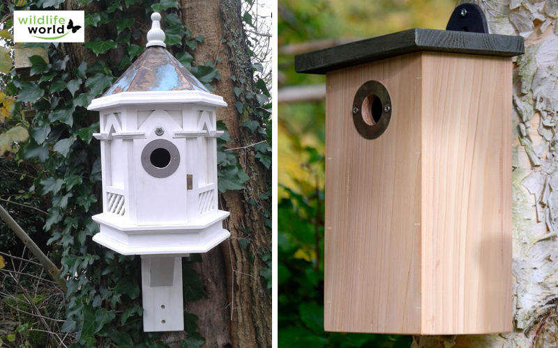 Wildlife world Casetta per uccelli Ornamenti da giardino Varie Giardino  |