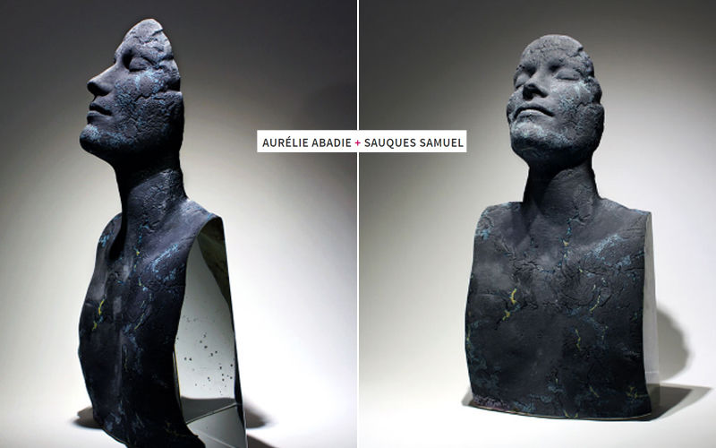 A. ABADIE + SAUQUES.S Scultura Statue Arte  |